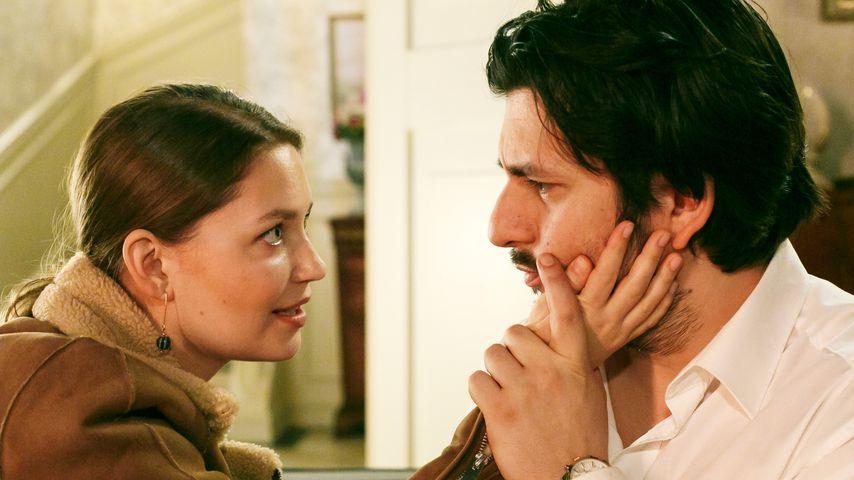 """Nathalie (Amrei Haardt) und Maximilian (Francisco Medina) bei """"Alles was zählt"""""""