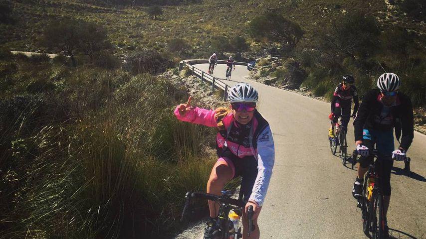 Radsportlerin Nathalie Birli