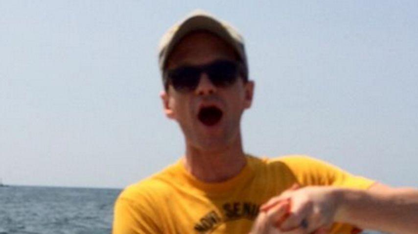 Mega-Fang: Neil Patrick Harris fischt Riesenfisch