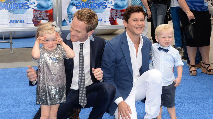 Neil Patrick Harris mit Familie in Kalifornien