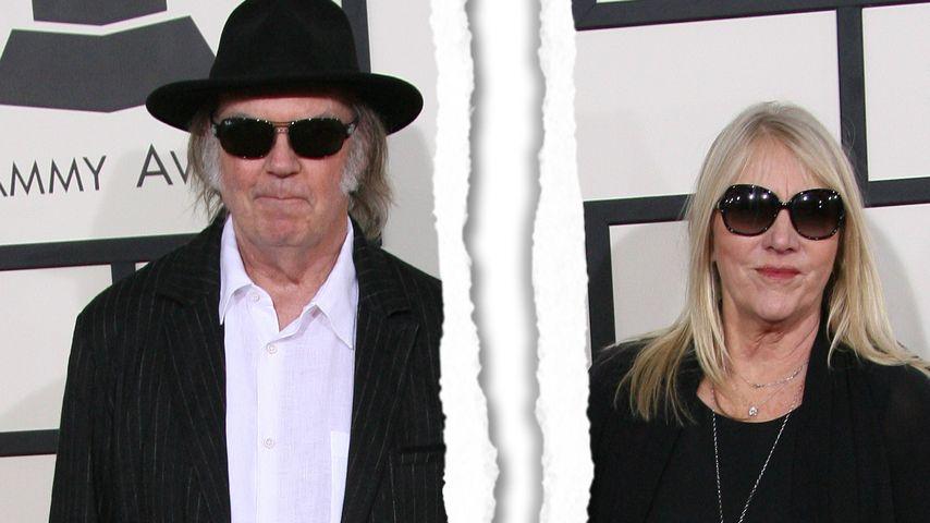 Neil Young: Plötzliches Ehe-Aus nach 36 Jahren!
