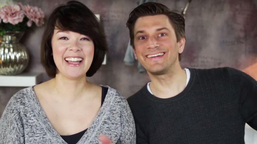Nela Panghy-Lee und Mann Christian