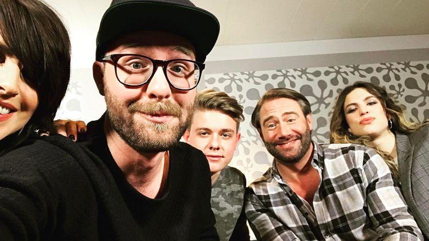 """Nena, Mark Forster, Sasha und Larissa Kerner backstage bei """"The Voice Kids"""""""