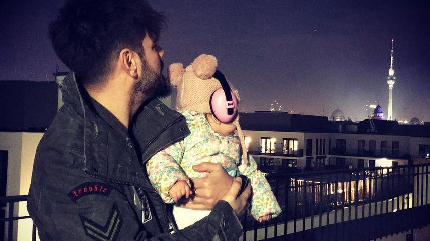 Nevio Passaros und seine Tochter Luce