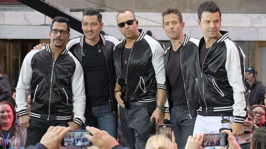 New Kids on the Block bei der Today Show in New York