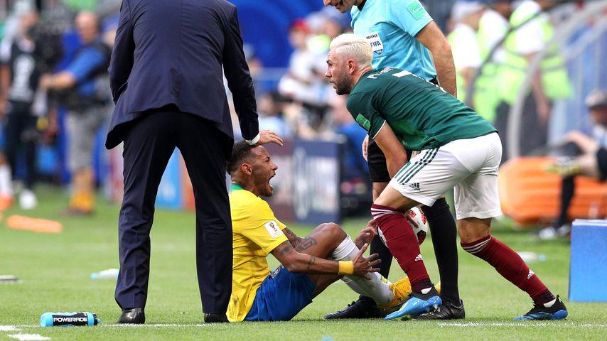 Neymar Jr. beim WM-Achtelfinale gegen Mexico