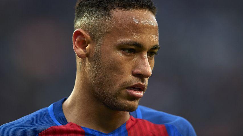 Neymar Jr. beim bei einem FC Barcelona-Match gegen Malaga CF