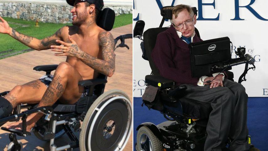 Wegen Stephen-Hawking-Vergleich: Shitstorm für Neymar Jr.!