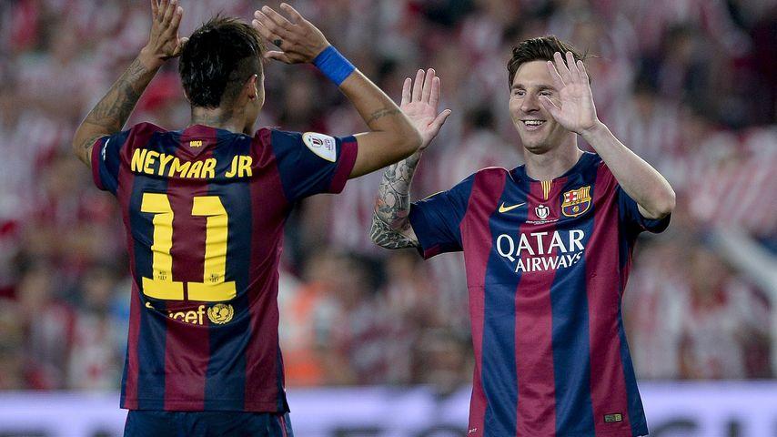 Für guten Zweck: Messi & Neymar versteigern ihre CL-Trikots