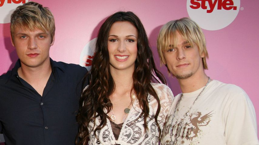 Fashion-Fehltritt: Nick Carter unterwegs im Socken-Look