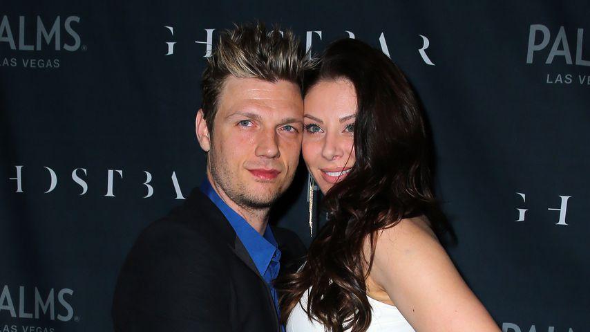 Nick Carter und Lauren Kitt in der Ghostbar in Las Vegas, 2014