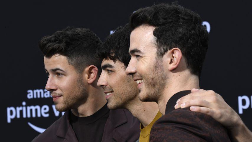 Nick, Joe und Kevin Jonas von den Jonas Brothers, Juni 2019