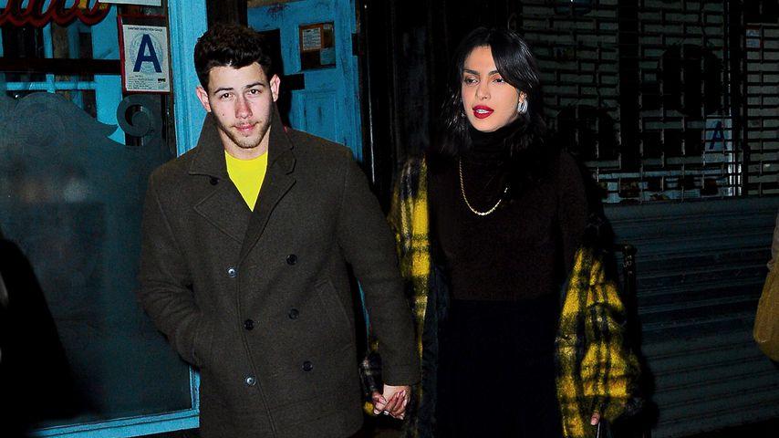 Nick Jonas & Priyanka Chopra bei Date-Night erwischt