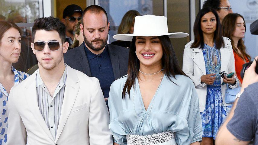 Nick Jonas und Priyanka Chopra im Mai 2019 beim Filmfestival in Cannes