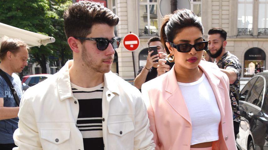 Nick Jonas und Priyanka Chopra Jonas in Paris, Juni 2019