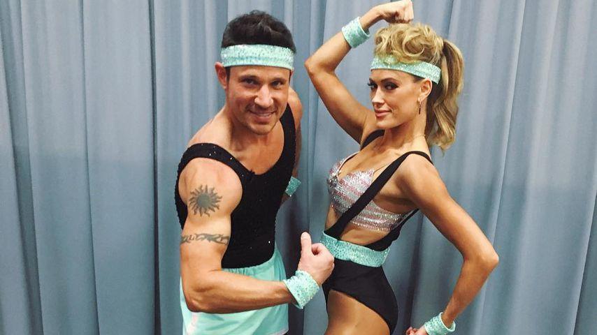 Hautenger Anzug: Wird Nick Lachey jetzt Aerobic-Trainer?