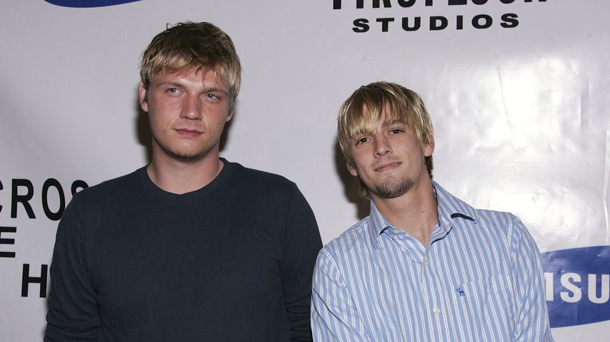 "Nick und Aaron Carter bei der ""Across The Hall""-Premiere 2006"