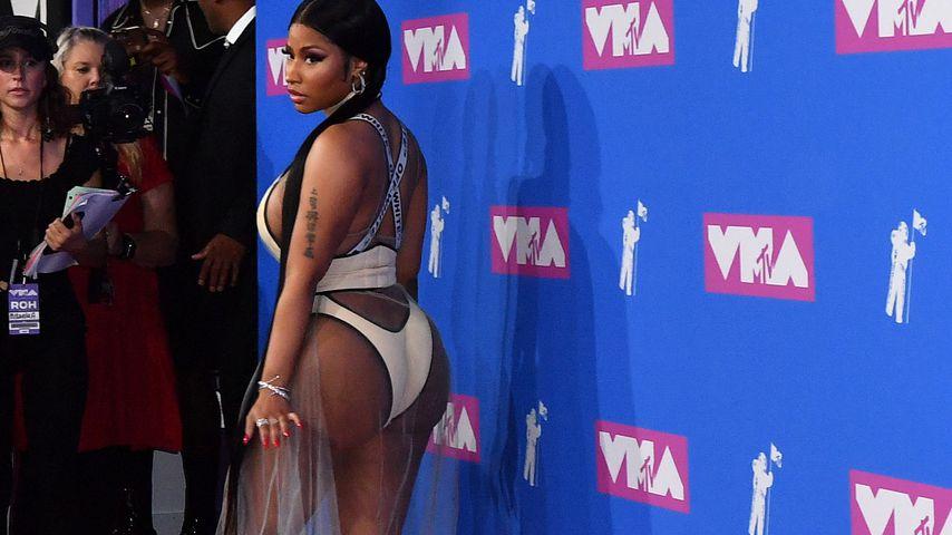 Nicki Minaj 2018 bei den MTV Music Video Awards in New York