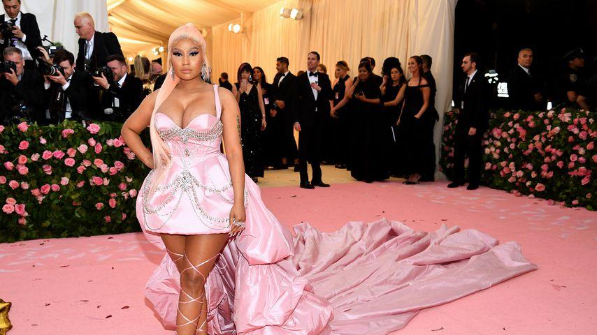 Nicki Minaj auf der Met Gala 2019