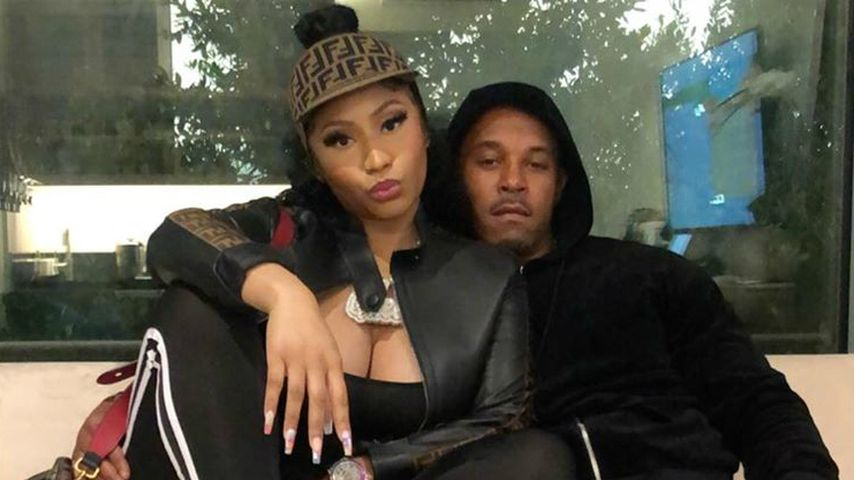 Nicki Minaj mit ihrem Mann Kenneth Petty