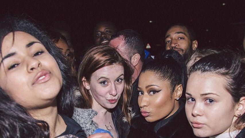 Brustfixiert: Nicki Minaj hat die perfekten Fans