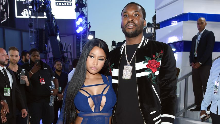 Nicki Minaj und Meek Mill bei den MTV Video Music Awards 2016