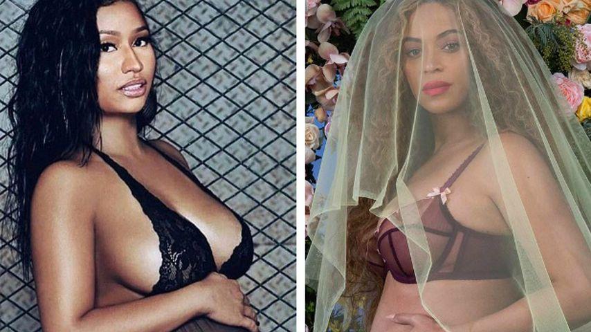 Neid auf Beyoncé? Nicki Minaj schockt Fans mit Schwanger-Pic