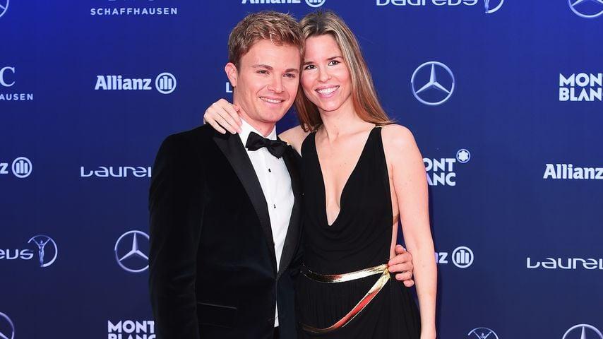 Zum 1. Mal Papa! Nico Rosbergs Tochter ist endlich da