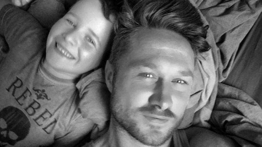 Nico Schwanz mit Sohn Damian Dion