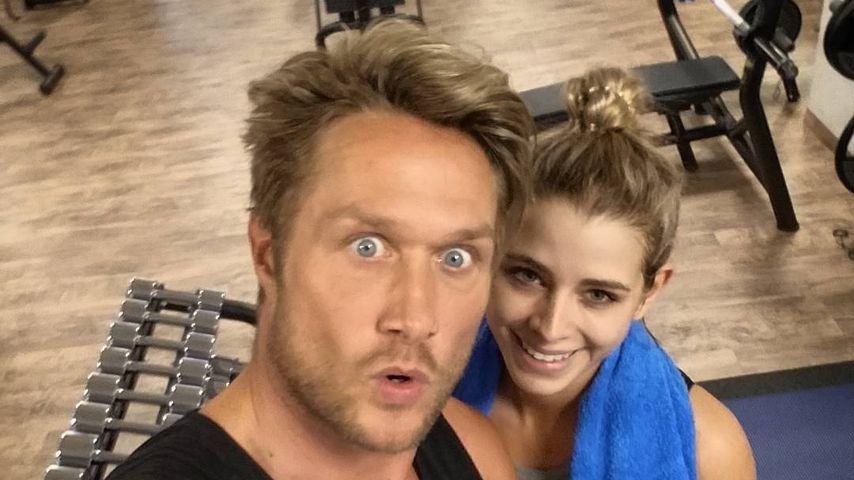 Nico Schwanz und Saskia Atzerodt beim Training
