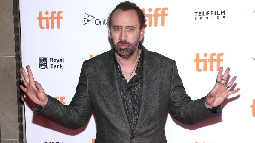 Nicolas Cage beim Toronto International Film Festival 2017