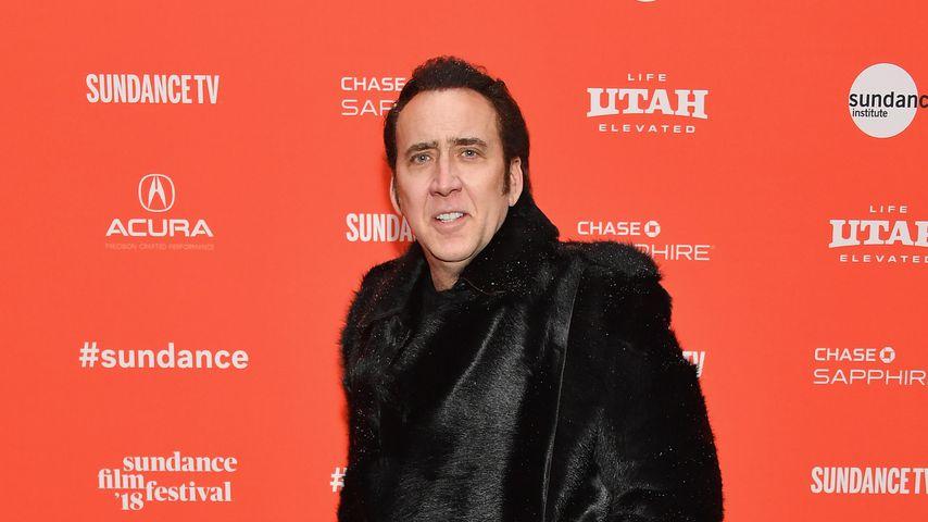 Nicolas Cage beim Sundance Film Festival 2018