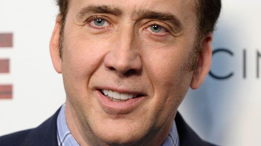 """Nicolas Cage bei einer Filmvorführung von """"Joe"""" in NYC im April 2014"""