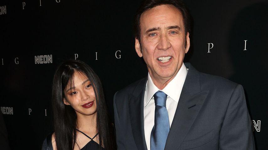 Nicolas Cage und seine Frau Riko Shibata