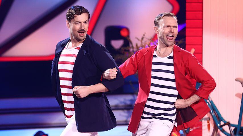 Nicolas Puschmann und Vadim Garbuzov bei Let´s Dance, 2021