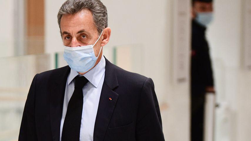 Nicolas Sarkozy vor Gericht in Paris im Dezember 2020