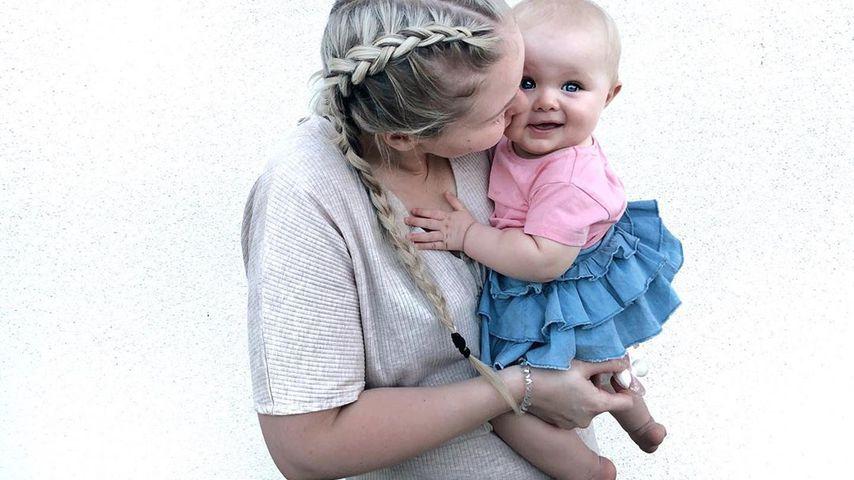 Nicole Handwerker mit ihrer Tochter, September 2019