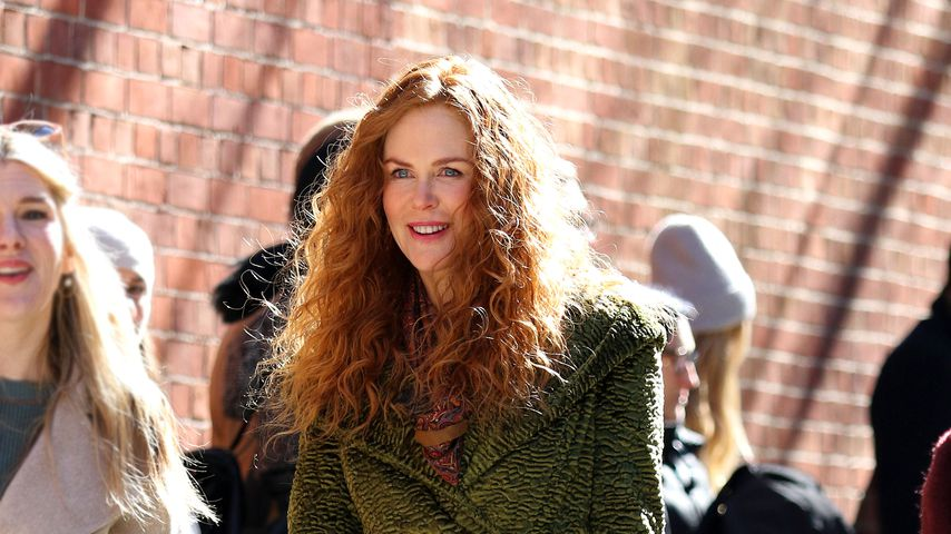 "Nicole Kidman am Set der Serie ""The Undoing"""
