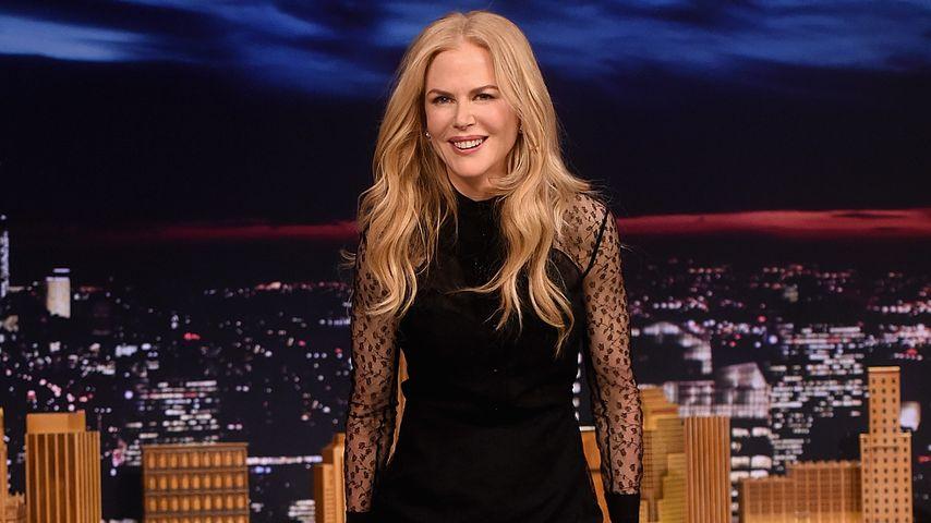 Nicole Kidman im November 2016 zu Gast in der Tonight Show in New York