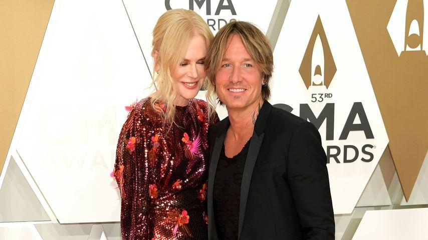 Nicole Kidman und Ehemann Keith Urban
