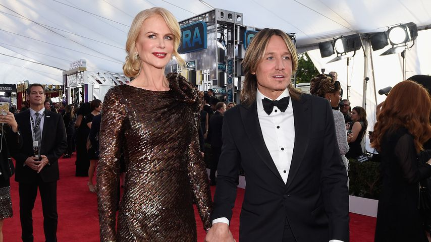 Nicole Kidman und Keith Urban bei den SAG-Awards 2018