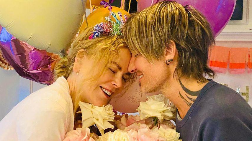 Nicole Kidman und Keith Urban an Nicoles Geburtstag 2021