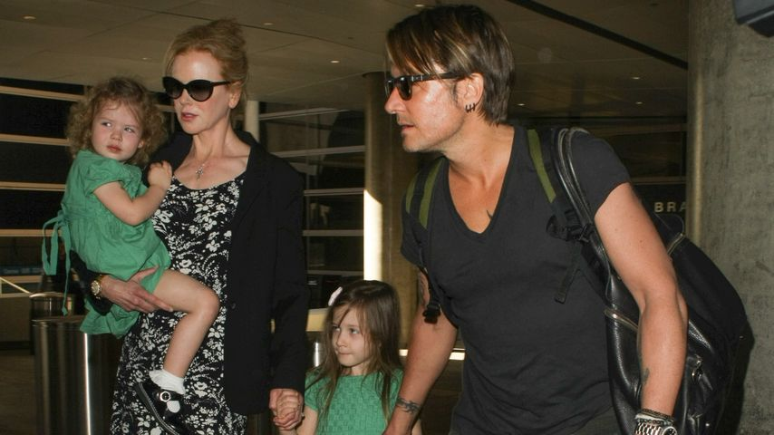 Nicole Kidman, Keith Urban und Sunday Rose Kidman Urban