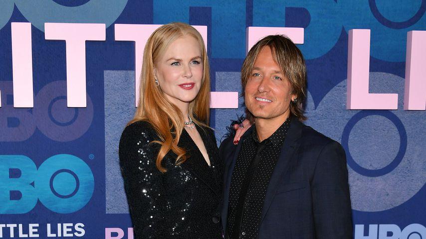 """Nicole Kidman und Keith Urban bei der Premiere der zweiten Staffel """"Big Little Lies"""""""