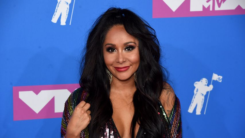 """Jersey Shore""-Star Nicole Polizzi alias Snooki bei den MTV Video Music Awards, August 2018"