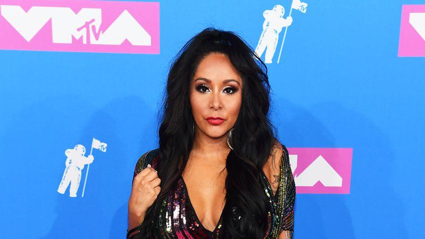 """Jersey Shore""-Star Nicole Polizzi alias Snooki bei den MTV Video Music Awards, August 2018"