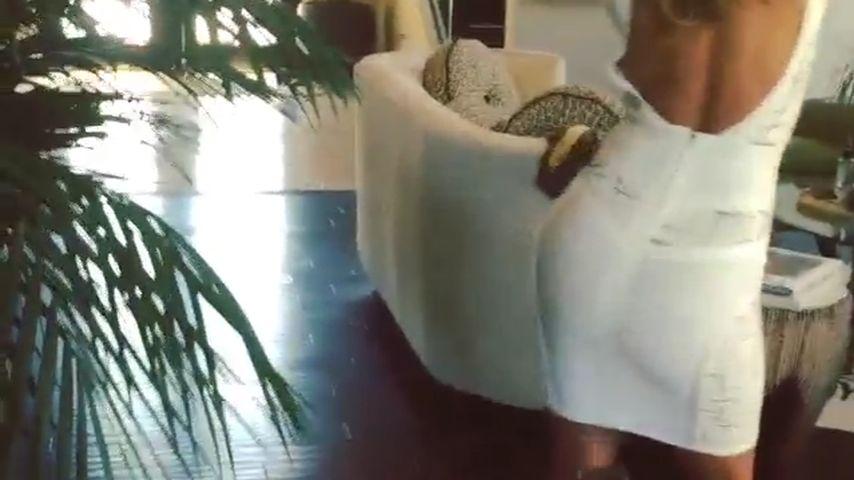 Sexy Moves: Nicole Scherzinger betört in transparentem Kleid