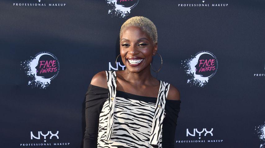 Nikeata Thompson bei den NYX Face Awards