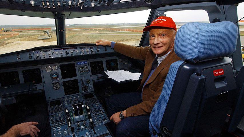 """""""Fly Niki"""": Formel-1-Star Niki Lauda bietet für Fluglinie!"""