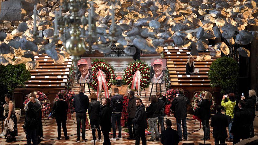 Niki Laudas Beerdigung in Wien